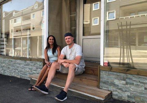 NYTT KONSEPT: Sofie Krohg er daglig leder og Bjørn Karlson er deleier i den kommende restauranten som tar over i Rustics gamle lokaler.