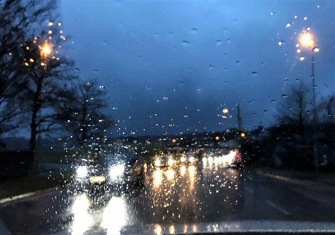 De neste dagene ser ut til å bli grå og våte for Færder kommunes del.