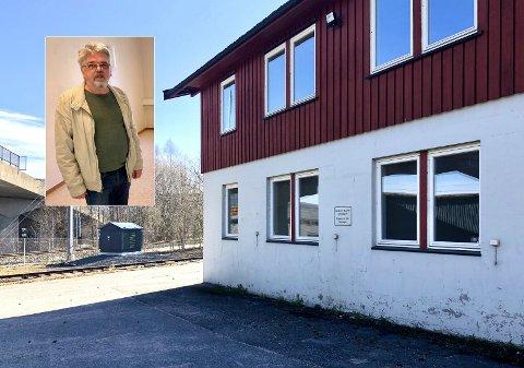 PÅ TILBUDSSIDA: Sigbjørn Lillefjære håper hjelpekorps-lokalene kan komme til nytte. – Nå er tida for at det skal vekke interesse, sier han.