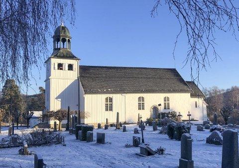 MYE AKTIVITET: På grunn av stor aktivitet gjennom året, ligger Eidanger kirke i toppen hva gjelder strømforbruk.
