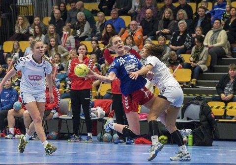Gina Heggheim Larsen var HSKs beste mot Selbu. Arkivfoto: Knut Andreas Ramsrud