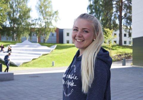 Russepresident: Den ene av årets russepresidenter, Line Jahn Øverby.