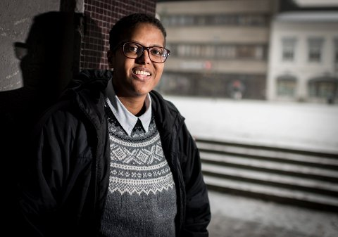 Vil aldri gi opp: Amal Aden brenner for at alle innvandrerbarn og innvandrerkvinner skal få være en del av det norske samfunnet. Til tross for motbør vil hun ikke gi opp. Nå er hun en av fem finalister i Novapros kåring av Årets kvinnelige forbilde.