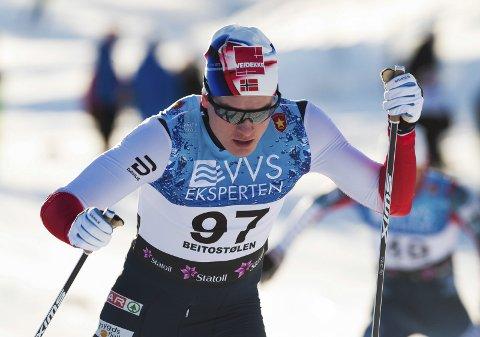 Eirik Sverdrup Augdal stod over onsdagens U23-VM-renn på grunn av sykdom. Fredag stiller han til start.