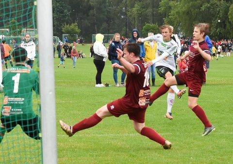 HBKS BESTE: Ådne Nordbøe var HBKs beste og satte inn to mål.