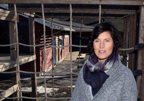 IKKE BEHOV: Kommunalsjef Marianne Mortensen har ikke behov for flere barnehageplasser nå.