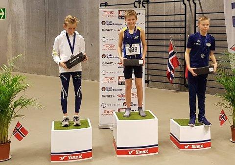 Teodor Hansen vant overlegent etter å ha ledet i alle 600 meterne.