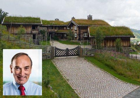 SAMLINGSSTED: – Jeg håper at hytta blir et samlingssted for familie og venner, sier Aage Thoresen til Ringerikes Blad.