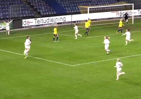 2-0: Synne Skinnes Hansen sikret seieren.