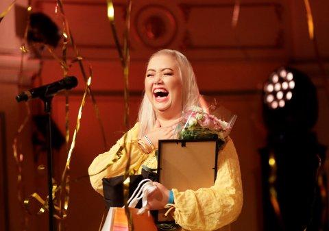 AGNETESH:  Agnete Husebye ble Årets influencer under VIXEN Awards 2019. Foto: Vidar Ruud / NTB scanpix