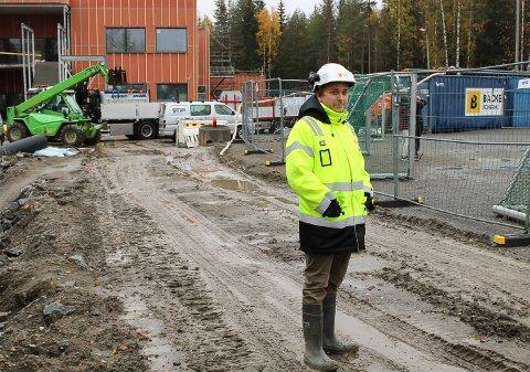 REKORD: Administrerende direktør Torgeir Grønsberg har all grunn til å være fornøyd med fjoråret. (Arkivfoto: Kbnut Storvik)