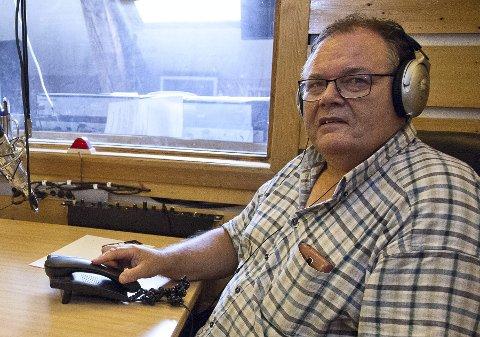 STANS: Radio Hurum har stanset sendingene sine midlertidig. Styrleder Jarle Steiro mener det kan bli permanent om radiokanalen må ut med 150 000 kroner i overtredelsesgebyr. Arkivfoto: Henning Jønholdt