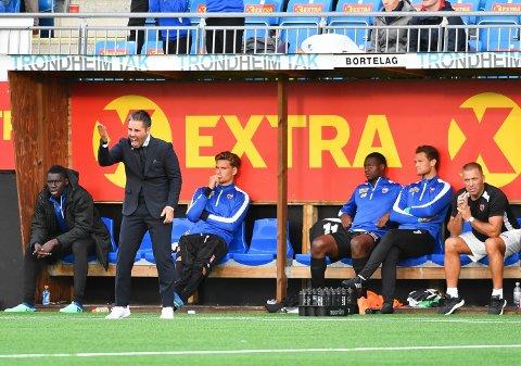 TYDELIG: SF-trener Martí Cifuentes ern klar på at en snarlig retur til Eliteserien er innen rekkevidde.
