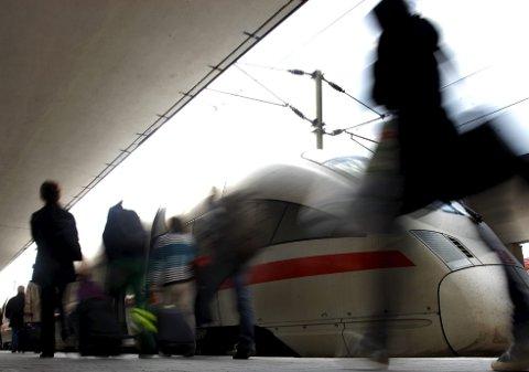 En høyhastighetsbane sørover mot Europa må til hvis klimamål skal nås, mener Åge Langeland. (Foto: NTB Scanpix)