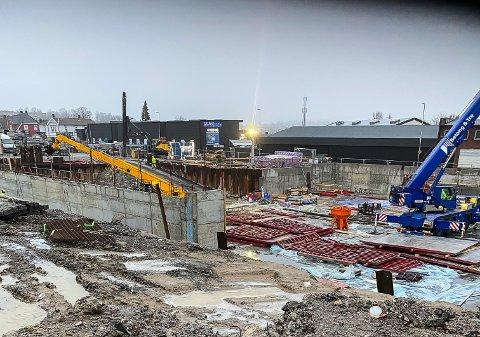 VATVEDT TORG: Utbyggingen av Vatvedt Torg i Østre bydel har startet opp i kvartalet hvor Vatvedt mekaniske verksted etablerte seg for 110 år siden.