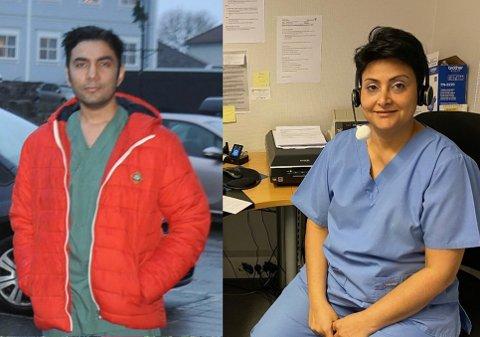 Nyansatte Mirza Mohsin Baig skal overta flere hundre av pasientene til Golbon Sadrzadeh. (Fotomontasje) ARKIV