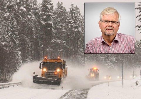 Avdelingsdirektør Tore Kaurin i Statens vegvesen mener at kvaliteten på arbeidet til driftsentreprenør Veidrift er for dårlig, og at de ikke oppdager eller gjør noe med feil og mangler på fylkesveinettet.