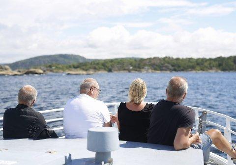 ØYHOPPING: Nå skal turstiene på ulike destinasjoner for øyhoppingen styrkes ytterligere.