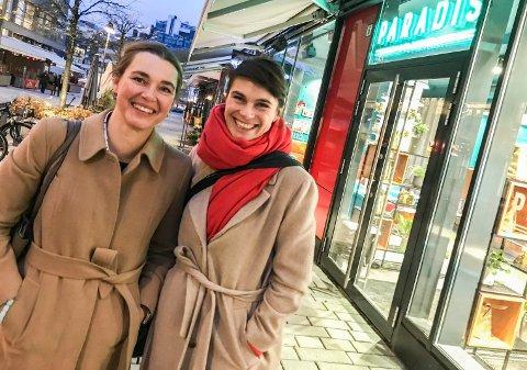 VENNINNER: Victoria Berge Løvenskiold og Jannette Platou er fadder til hverandres barn og har kjent hverandre i mange år.