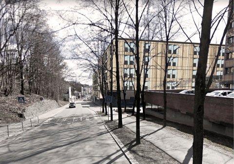 INNSIGELSE: En innsigelse har kommet mot planen for det nye sykehjemmet i Skien sentrum (skisse).
