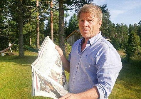 BEKREFTER: Tidligere redaktør Jan Magne Stensrud bekrefter at han har signert en sluttavtale med Drangedalsposten.