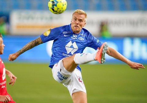TIL ODD? Eirik Ulland Andersens framtid i Molde er usikker. Flere klubber, deriblant Odd, vurderer spilleren.