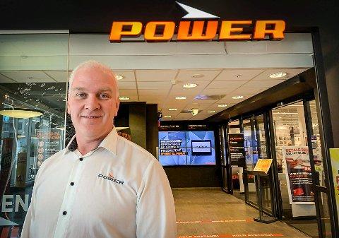 KOMMER: Power-kjeden etablerer seg på Notodden i løpet av høsten. Driftssjef i Power Norge, Ståle Frågodt, er positiv til den gode responsen de har hatt på stillingsannonsene.