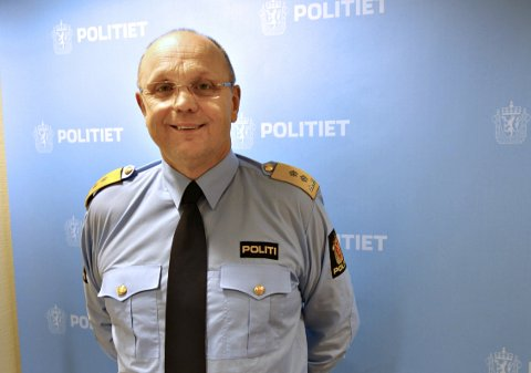 FÆRRE: Politimester Ingar Bøen i Møre og Romsdal.