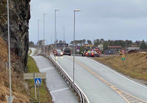 Ingen reaksjoner under en promillekontroll i Kristiansund søndag formiddag.