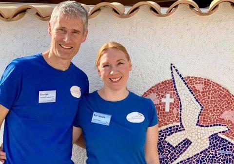 Gustav Valle og Liv Marit Valle er henholdsvis diakonal medarbeider og kirkemusiker i Sjømannskirken i Spania.