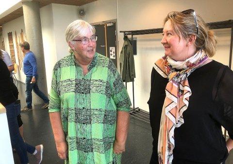 UENIGE: Mor Bente Mosbakk og datter Rakel Polden stemte likt da kommunestyret vedtok å legge kommunedelplan for Todalsfjordprosjektet ut til seks ukers offentlig ettersyn. Men Bente konstaterte at hun hadde mislyktes med oppdragelsen etter innlegget fra Rakel der hun ga uttrykk for dyp skepsis til prosjektet.