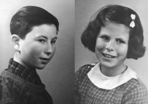 DREPT: Sem (8) og Mina (10) var de to yngste ofrene i Tønsberg for deportasjonen. Ifølge en overlevende satt de to og klamret seg til moren sin under overfarten med «Donau» mot Auschwitz.