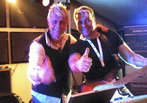 Dans: Jørn & Bjørn spiller på Dags Pub lørdag kveld.Privat foto