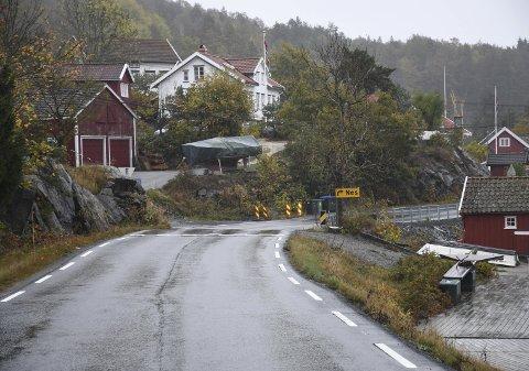 Sagesund: Øyvind Gunvaldsen ønsker at fartsgrensen settes ned her.
