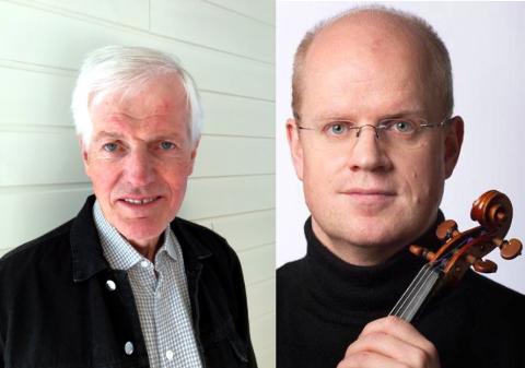 Kulturprisvinnere: Jon Gjesdal og Alf Richard Kraggerud mottar Kulturprisen 2018 fra Nord-Aurdal kommune.