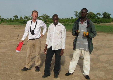 """Mali: Jan Solberg driver organisasjonen """"Children Green World Vision"""", som har som føremål i Mali """"å sette landsbygdas ungdom og unge jorddyrkere i stand til å dyrke mer mat på en bærekraftig måte""""."""