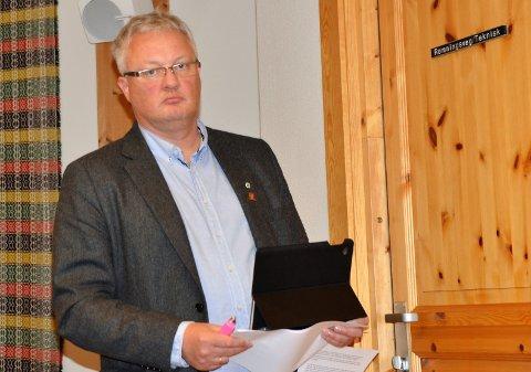 HÅPER: Ordfører i Øystre Slidre kommune, Odd Erik Holden, håper tiltakene ble satt i gang rask nok da det første tilfellet ble kjent fredag.