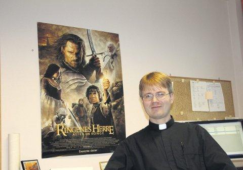 Tidene endres: Frode Granerud er klar over at tidene forandrer seg, også innenfor den norske kirke. Han har selv arrangert en «Ringenes Herre»-gudstjeneste.