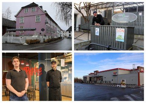 SMILEFJES: Flere serveringssteder i kommunen har blitt kontrollert av Mattilsynet den siste tiden. Det ble ikke funnet regelbrudd, og alle kontrollerte har fått smilefjes.