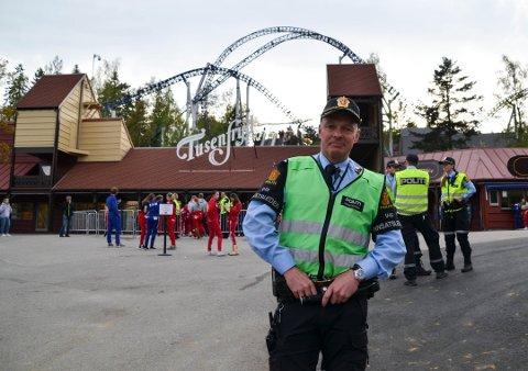 Innsatsleder i politiet, Arild Skarø, kunne fortelle at han var godt fornøyd med gjennomføringen av arrangementet.