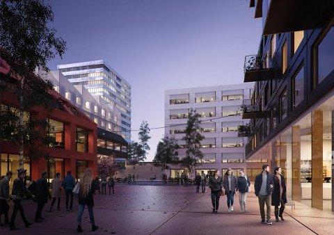 FORVENTNINGER TIL SENTRUM: Kvalitetrsprogrammet for nye Ås sentrum er i ferd med å  bli vedtatt.