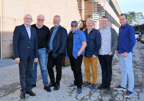 Troens Bevis var med og arrangerte en historisk konferanse for unådde folkegrupper. F.v.: Ole Arvid Kolbjørnsrud, Erik Jensen, Jan Nestvold , Rune Edvardsen, Glenn Tønnessen, Olav Rønhovde og Per Ove Berg.
