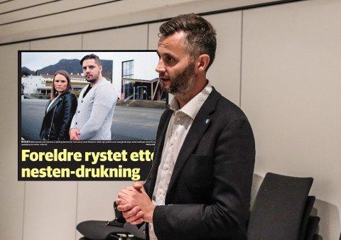 ALVOR: Ordfører Per Sverre Kvinlaug bedyrer at han og kommunen tar saken på alvor, men ønsker å vite mer før ytterligere uttalelser kommer.