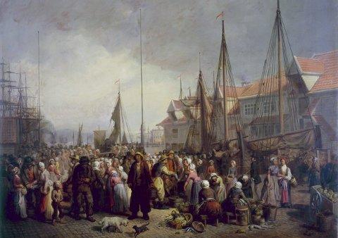 I 1765 budde det 13.000 menneske i Bergen. i 1757 vart det importert 1.250.000 liter brennevin til Bergen.