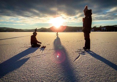 Det ble en varm vinter i hele landet. Nærmere bestemt 2,3 grader over normalen.