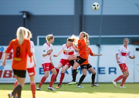 Sandviken vant lokaloppgjøret i cupen mot Åsane onsdag.