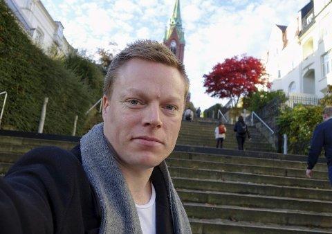 Patrick Karlsen i Foreningen for Human Narkotikapolitikk.