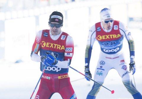 Sjur Røthe brukte ikke lang tid på å deppe over den svake prologen på sprintdagen i Tour de Ski søndag. Han trøstet seg med 9.-plassen på 15 kilometer dagen før og så frem til å se Jürgen Klopp og Liverpool på kvelden!