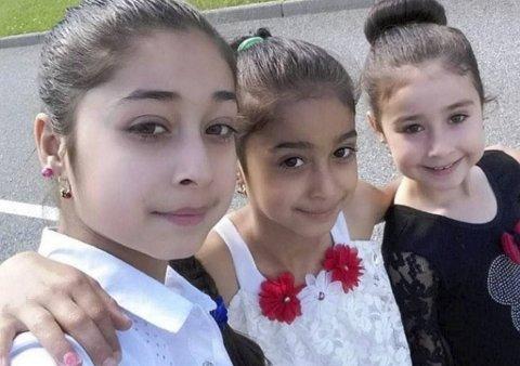 Noura, Rouhlat og Nohin Othman døde etter husbrannen i Ytrebygda.