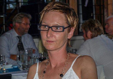 NY LEDER: Camilla Løchen er ansatt som assisterende daglig leder ved Modum Blaafarveværk.